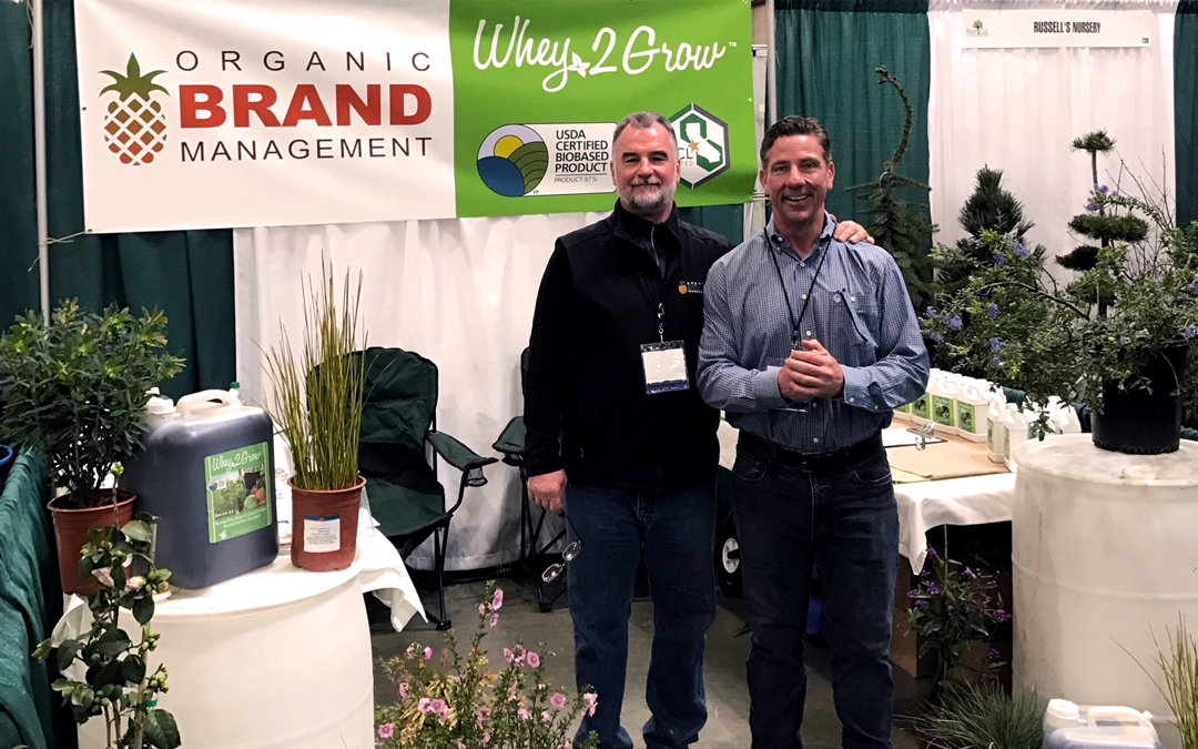 Organic Brand Management Attends the NorCal Landscape & Nursery Show